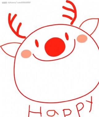 圣誕可愛系列矢量圖圖片