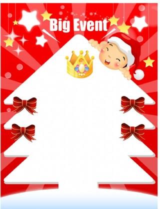 圣诞POP海报设计10图片
