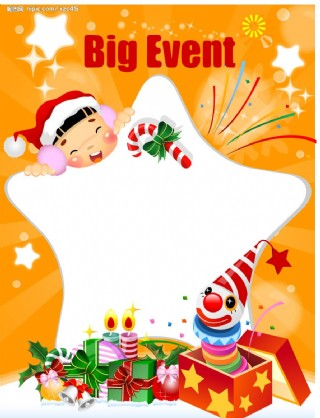 圣诞POP海报设计13图片