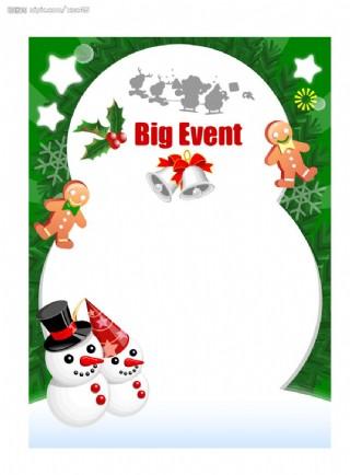 圣诞POP海报设计14图片