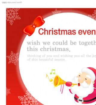 圣诞POP海报设计15图片