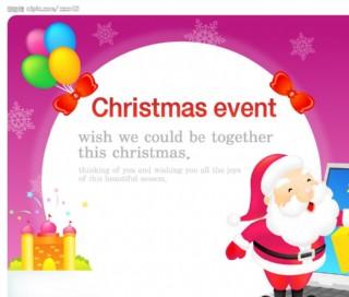 圣诞POP海报设计16图片
