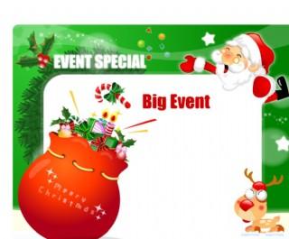 圣诞POP海报设计17图片