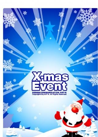 圣诞POP海报设计18图片