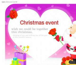 圣诞POP海报设计19图片