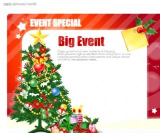 圣诞POP海报设计20图片