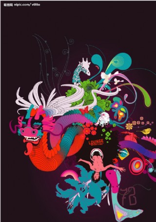 巴西設計大師超酷矢量作品圖片
